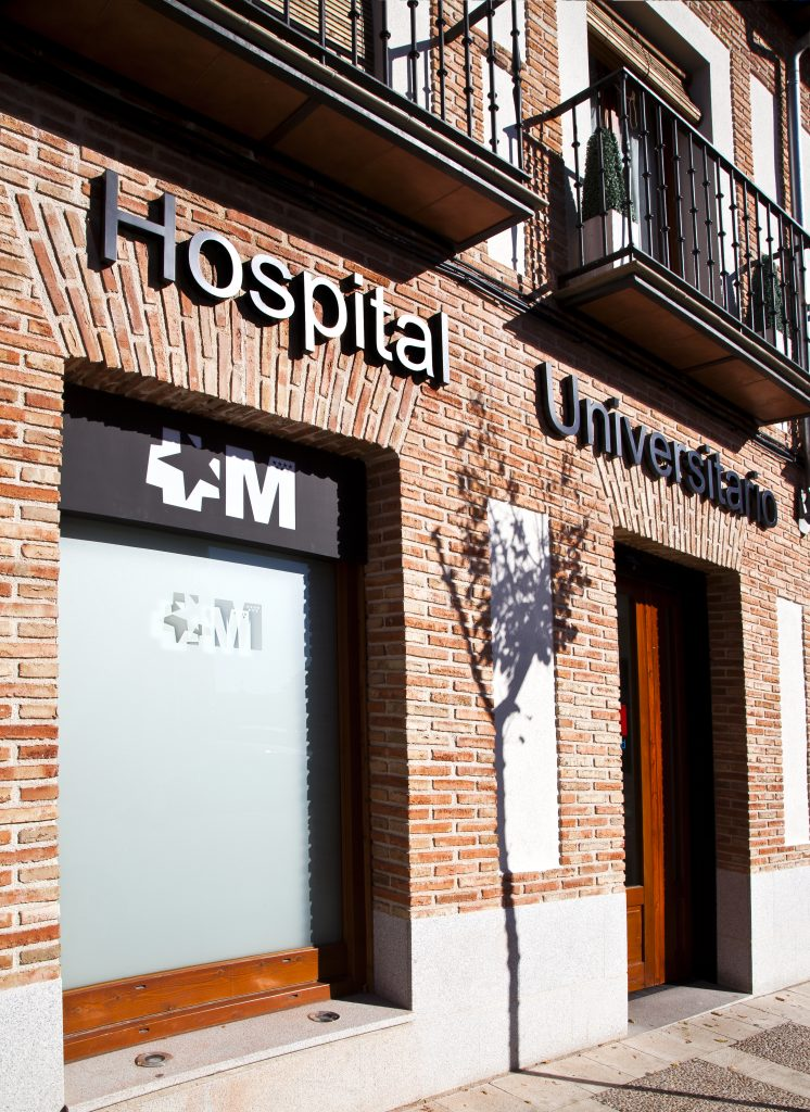 Centro De Especialidades. Hospital Universitario Rey Juan Carlos En Navalcarnero (Madrid)